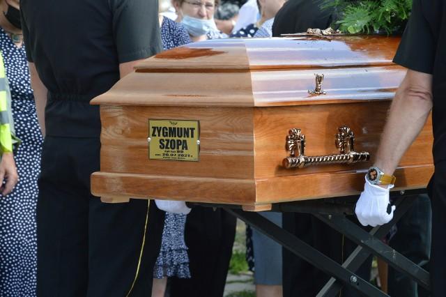Zygmunt Szopa spoczął na cmentarzu w Miechowie