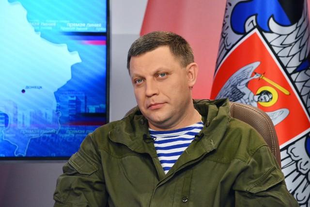 Aleksandr Zacharczenko zginął w wyniku wybuchu bomby w kawiarni w Doniecku
