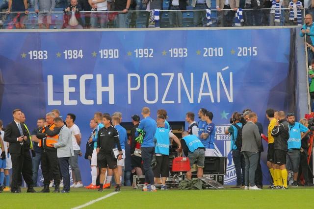 Mecz Lech Poznań - Legia Warszawa