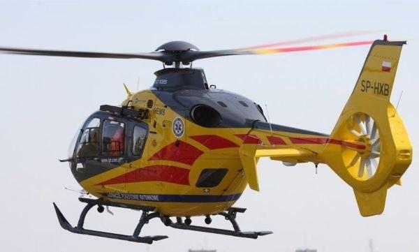 Tak prezentuje się Eurocopter EC135P2 na zdjęciu Pawła Bondaryka