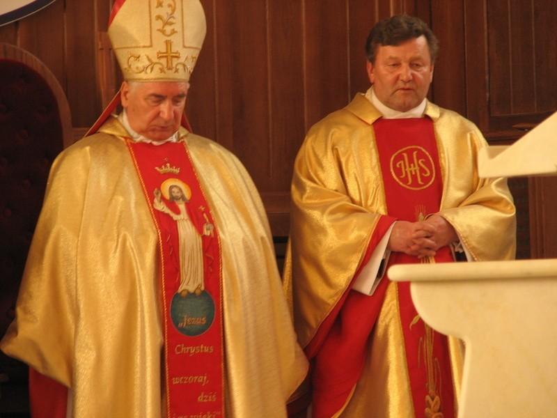 Nuncjusz papieski, abp Józef Kowalczyk, był gościem jubilata