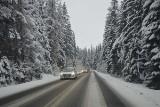 Wyjazd w Tatry. Lepiej założyć opony zimowe!