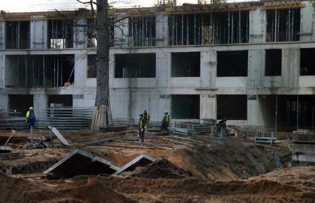 Budowa nowego LO5 przy ul. Ślężnej