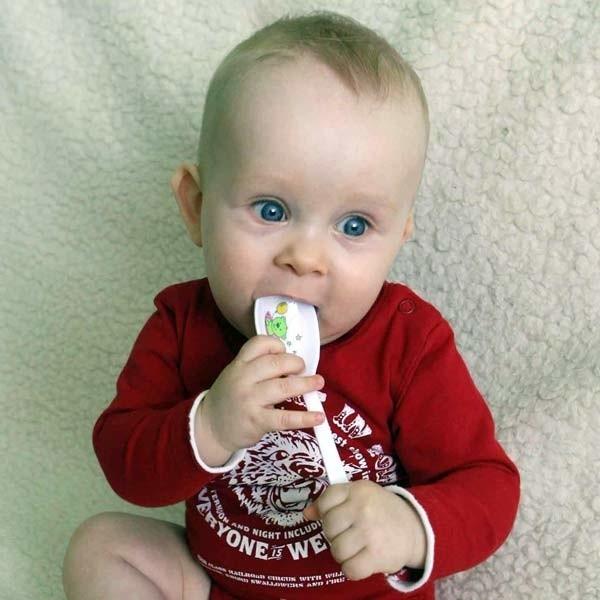 Rodzice małego Filipa są alergikami, dlatego maluch później poznaje smak niektórych pokarmów.