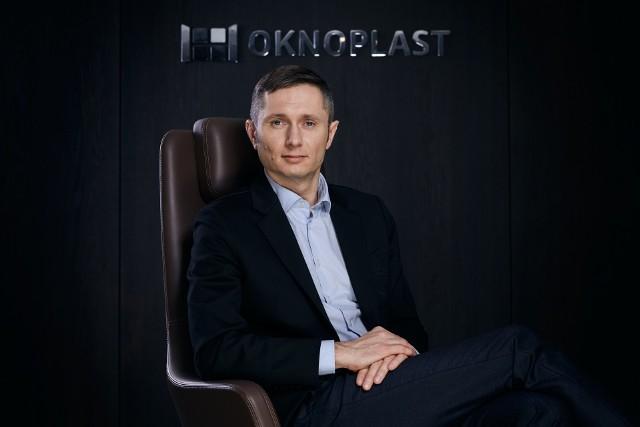Mikołaj Placek, prezes Grupy OKNOPLAST