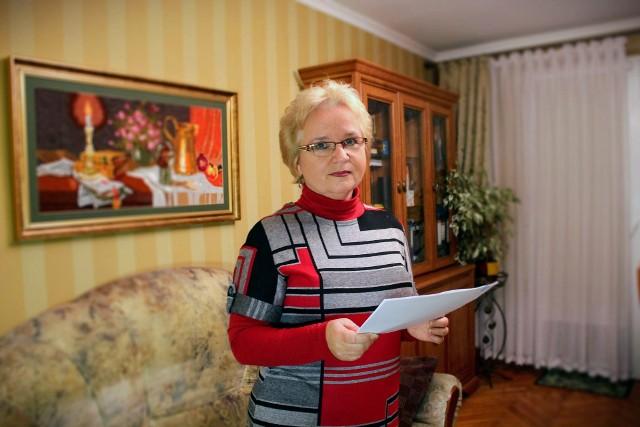 Grażyna Juszczyk mówi, że jest już zmęczona sprawą, która ciągnie się od 8 lat.