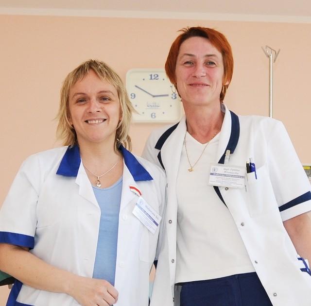 Małgorzata Sós (z lewej) i Janina Wroniecka nie wyobrażają sobie innej pracy