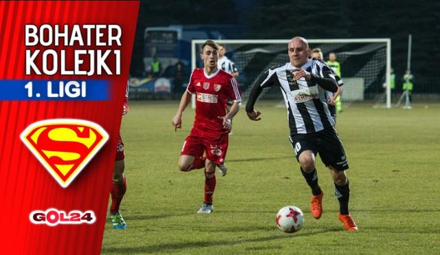 Wojciech Trochim bohaterem 21. kolejki Nice 1. ligi