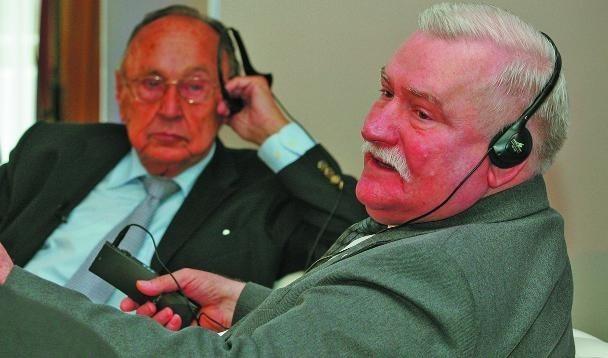 Hans Dietrich Genscher i Lech Wałęsa należą do ludzi, którzy tworzyli najnowszą historię Europy.