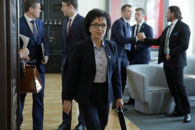 Elżbieta Witek na piątkowym posiedzeniu parlamentu została powołana na marszałka Sejmu. Zastąpi na tym stanowisku Marka Kuchcińskiego
