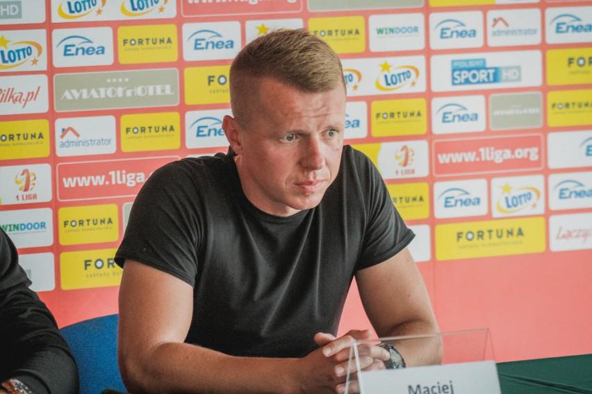 Maciej Lesisz, asystent pierwszego trenera Radomiaka Radom, Dariusza Banasika.