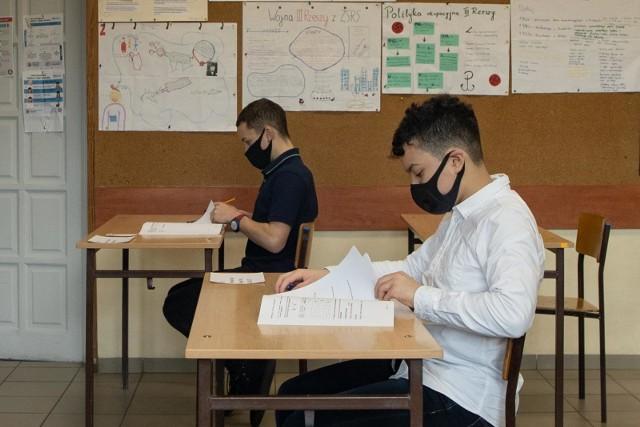 Do próbnego egzaminu przystąpili m.in. ósmoklasiści ze Szkoły Podstawowej nr 35 w Bydgoszczy