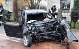 Wypadek śmiertelny w Raciborzu Markowicach ZDJĘCIA Kobieta i mężczyzna zginęli w czołowym zderzeniu samochodów. Sprawca był pijany!