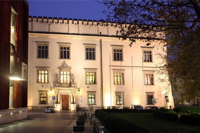 Siedziba krakowskiego magistratu przy placu Wszystkich Świętych