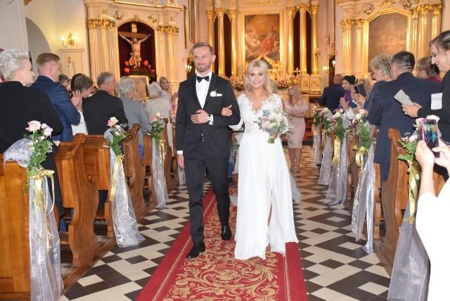 Ślub Natalii Mancewicz. Siostra Miss Polonii wyszła za mąż