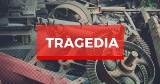 Tragedia w skupie złomu w Kandlewie w powiecie wschowskim. Koło zabiło 39-letniego mężczyznę