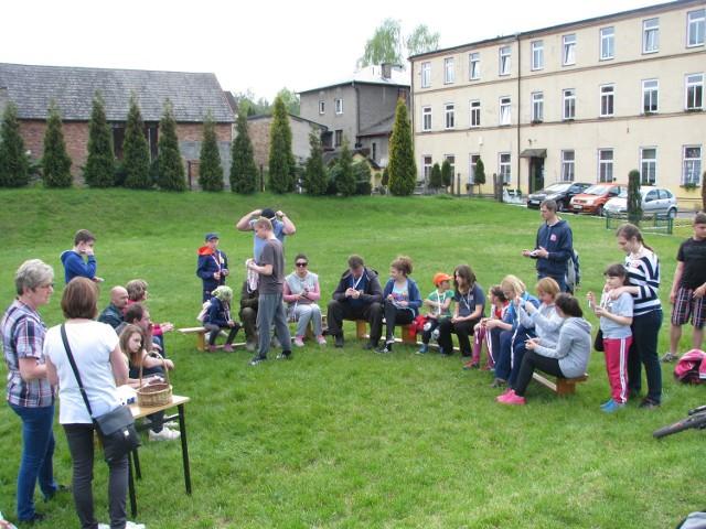 Rodzinna impreza w Okradzionowie z okazji 100-lecia miasta