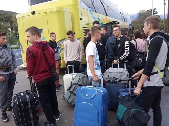 Uczniowie z ZS w Makowie wyjechali do Grecji na dwa tygodnie