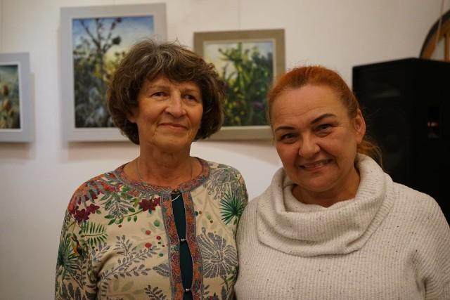 Otwarto wystawę Elżbiety Kurkowskiej.