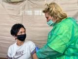 W szkole w Bogdańcu otwarto Punkt Szczepień Powszechnych. Od razu rozpoczęły się szczepienia