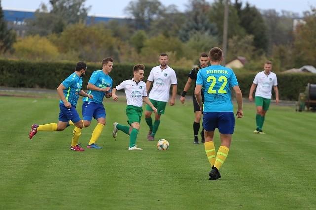 Makowianka Maków Mazowiecki szybko przejęła inicjatywę w tym meczu. Już w 9. minucie bramkę na 1:0 strzelił Kamil Majkowski.