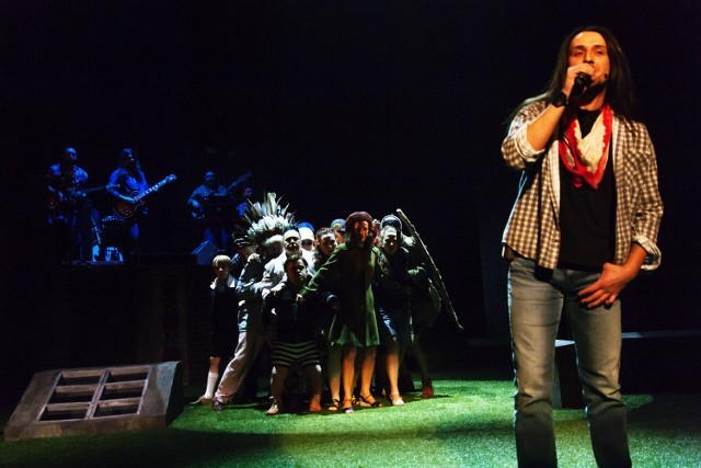 Skazany na bluesa: Premiera spektaklu w Teatrze Śląskim w Katowicach [ZDJĘCIA Z PREMIERY]