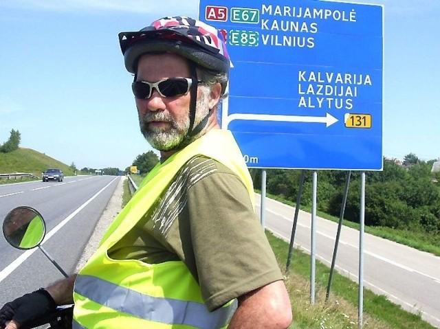 w drodze - już na Litwie