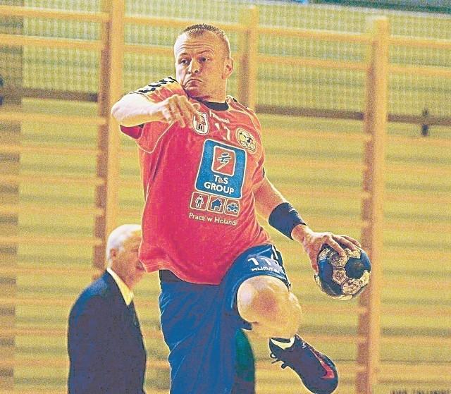 Łukasz Gradowski przed tygodniem zdobył 11 bramek.