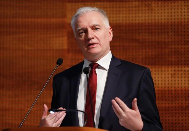 """Jarosław Gowin chce przełożenia wyborów prezydenckich o rok. Ma w tym pomóc """"jednorazowa zmiana konstytucji"""""""