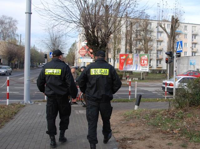 Policja w Aleksandrowie będzie uboższa o 70 tysięcy. Tak zdecydowali radni.