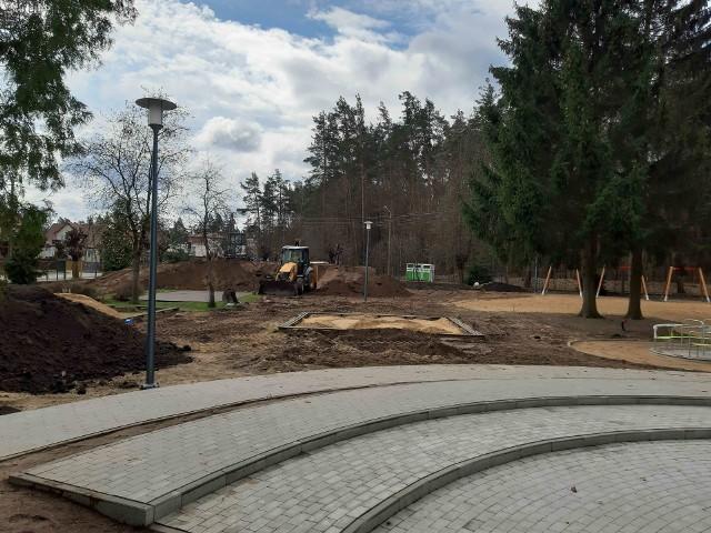 Plac zabaw powstaje jako projekt z budżetu obywatelskiego. Ma zostać ukończony w 2022 roku