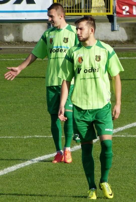 Łukasz Sekulski (z prawej) zdominował ranking II ligowców