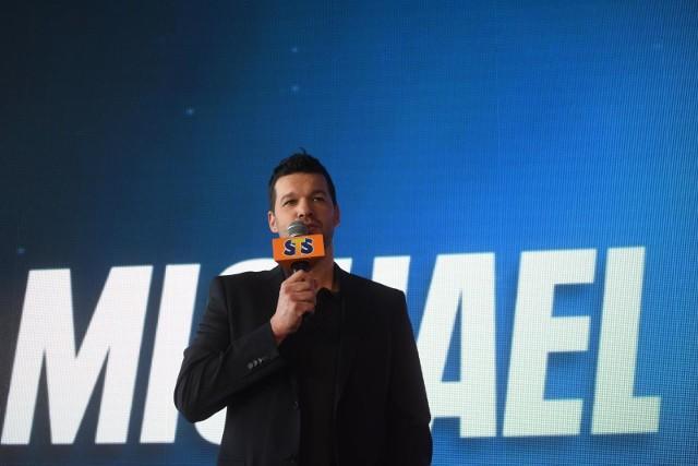 Michael Ballack był gościem konferencji prasowej STS