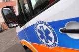 Wypadek na ul. Cieszkowskiego w Swarzędzu – ranny kierowca trafił do szpitala