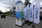 W centrum Torunia stanęło urządzenie do oczyszczania powietrza. Na razie na cztery miesiące. Zobacz zdjęcia!