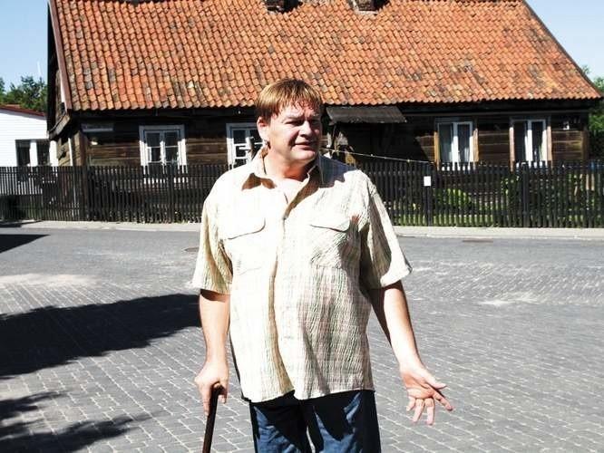 Zbigniew Klimaszewski ze stowarzyszenia Nasze Bojary