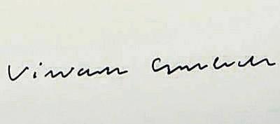 Autograf Wisławy Szymborskiej sprzedawany na portalu Allegro FOT. ARCHIWUM ALLEGRO