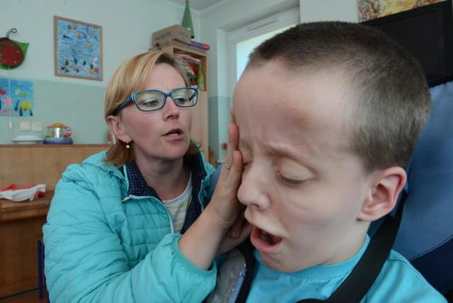 Wolkswagena skradziono też Krystynie Bohonos, mamie niepełnosprawnego Krzysia z Zielonej Góry