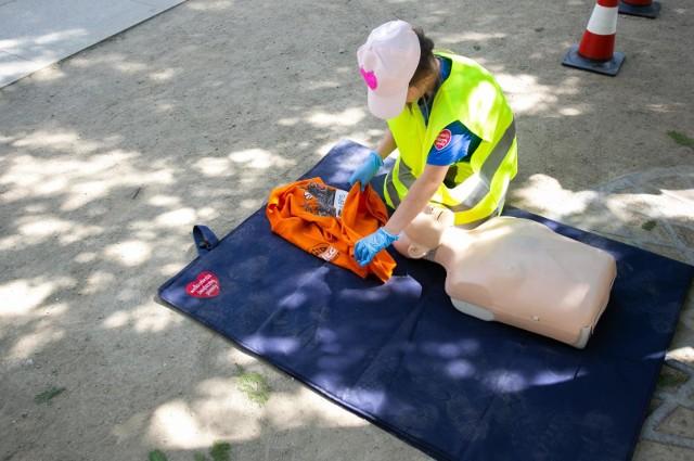 9-latek przyznał że, jest po szkoleniu z udzielania pierwszej pomocy.