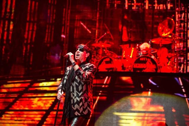 Scorpions w krakowskiej Tauron Arenie wystąpili na czele z charyzmatycznym wokalistą Klausem Meine.