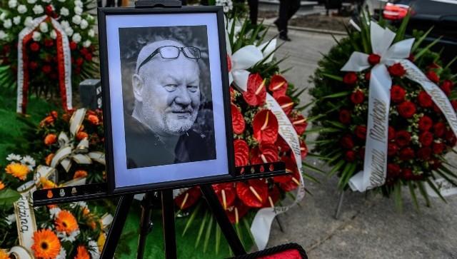 Pogrzeb Marka Lesińskiego na Cmentarzu Łostowickim w Gdańsku