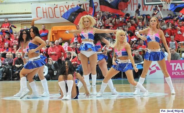 Cheerleaderki na meczach AZS Koszalin w sezonie 2011/12. Zobaczcie zdjęcia!