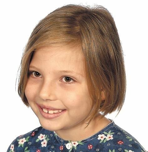 Oliwia Kłobukowska w piątek była pierwsza wśród starszych dziewczynek.