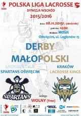 Oświęcim. W ekstraklasie lacrosse czas na derby Małopolski