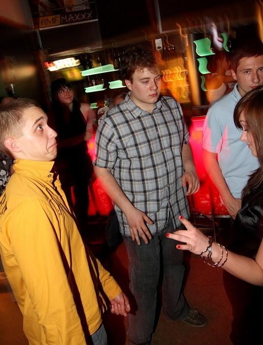 Zdjecia z imprezy (18 kwietnia) w slupskim klubie Qugino.