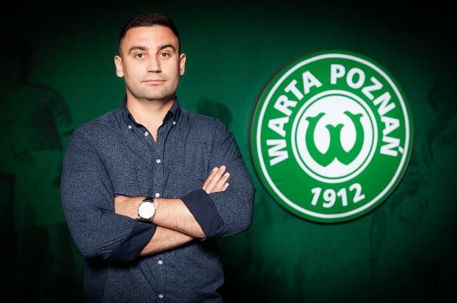Radosław Mozyrko (na zdjęciu) zastąpił na stanowisku dyrektora sportowego Warty Poznań Roberta Grafa
