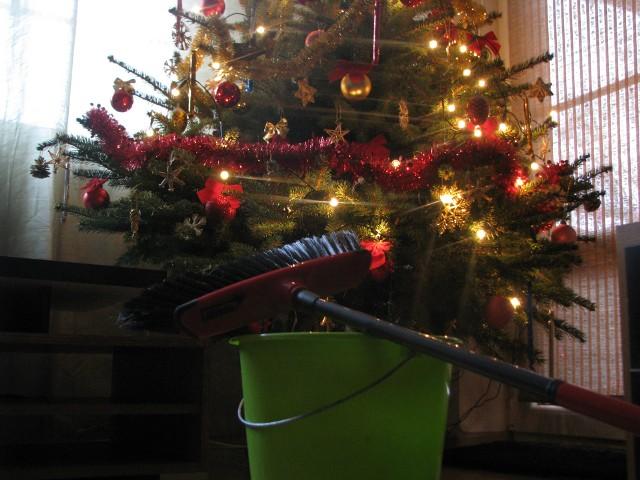 świąteczne przygotowaniaSpójrz, jaka piękna choinka! Nie zatruwaj świątecznej atmosfery zamiataniem każdej igiełki, która spadła z drzewka. Pamiętaj, że perfekcjonizm może mieć wydźwięk pozytywny lub negatywny - w zależności od sytuacji.