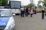 Policja skontrolowała autobusy, które wyjeżdżały dzisiaj ze Szczecina na zielone szkoły