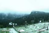 Mamy lato więc w Tatrach... sypnęło śniegiem [ZDJĘCIA]