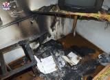 Tragiczne skutki pożaru w Zamościu. Jedna osoba nie żyje, a druga jest ranna